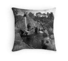 Mclarens autumn casscade Throw Pillow