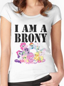 I am a Brony Women's Fitted Scoop T-Shirt