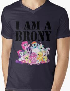 I am a Brony Mens V-Neck T-Shirt