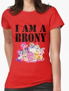 I am a Brony Womens Fitted T-Shirt