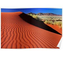Sand Ripples Poster