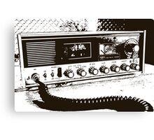 Classic Radio Canvas Print