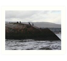 Wreck of the Sugar Boat  (Firth of Clyde) Art Print