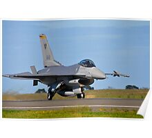F-16C Falcon, 143 Squadron, Republic of Singapore Air Force Poster