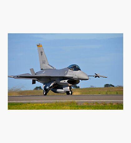 F-16C Falcon, 143 Squadron, Republic of Singapore Air Force Photographic Print