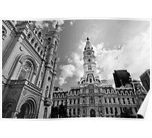 Masonic Temple & City Hall Poster