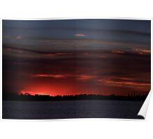 April Sunset 4 Poster