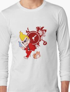 the ghost detective Long Sleeve T-Shirt