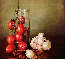 Mediterranean flavors by Luisa Fumi