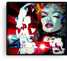 Retro Monroe Canvas Print
