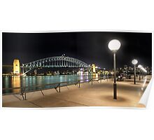 Sydney Harbour View Poster