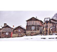 The art of snow Photographic Print