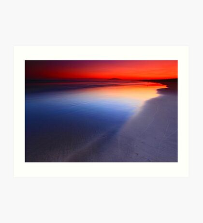 Seven Mile Beach Sunset Art Print