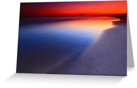 Seven Mile Beach Sunset by Arfan Habib