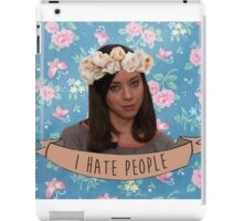 I Hate People - April Ludgate iPad Case/Skin