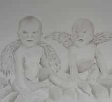 Little Angels (study 12/50) by Darren Golding