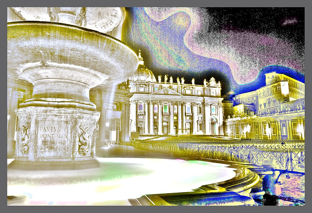 St Peter's Basilica at Rome by salmas61