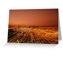 AMBER WAVES Greeting Card
