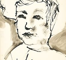 Young Boy (Inspired by Picasso) by VenusOak