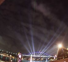 Light Show, Sydney, Australia 2004 by muz2142