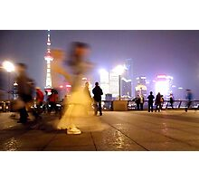 Shanghai - The Bund Photographic Print