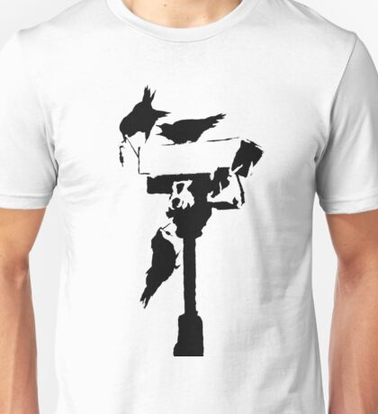 Banksy - Angry Crows Unisex T-Shirt
