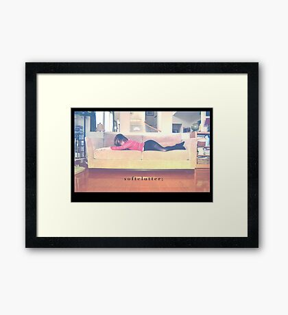 inquiring Framed Print