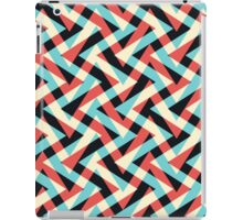 Crazy Retro ZigZag iPad Case/Skin