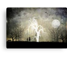 One Moonlit Night Canvas Print