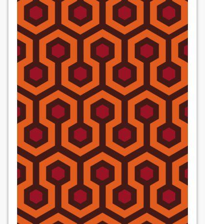 Overlook Hotel Carpet (The Shining)  Sticker