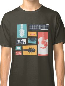 Guitar Collage Classic T-Shirt