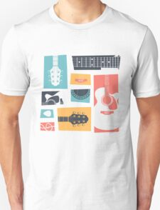 Guitar Collage T-Shirt