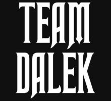 Team Dalek by Chris McQuinlan