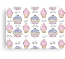 Cupcakes and Ice cream <3 Canvas Print
