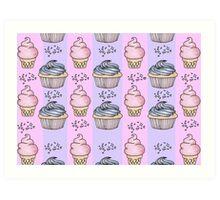 cupcakes and ice-cream!  Art Print
