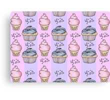 cupcakes and ice-cream!  Canvas Print