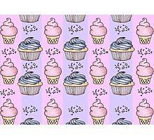 cupcakes and ice-cream!  Photographic Print