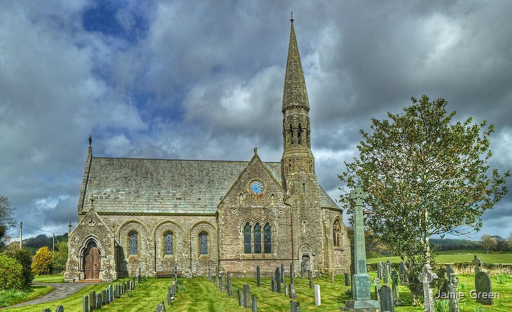 St John's Church, Bassenthwaite by Jamie  Green