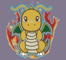Pokemon - Dragonite by Tarobeast