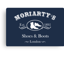 Moriarty's Shoe Shop Canvas Print
