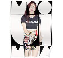 TWICE 'Myoui Mina' Typography Poster