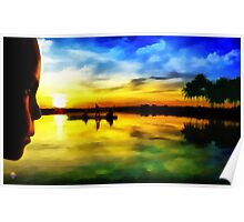 Beautiful Sunset Poster