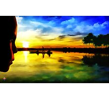 Beautiful Sunset Photographic Print