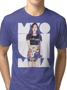 TWICE 'Myoui Mina' Typography Tri-blend T-Shirt