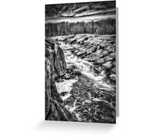 White Water Valley Greeting Card