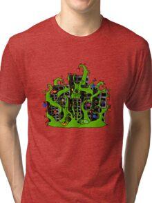 Earth Strikes Back Tri-blend T-Shirt