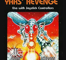 Yars' Revenge Cartridge Artwork by SquareEyedJak