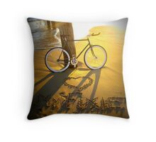 Love My Fixie Throw Pillow
