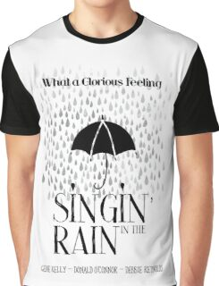 Singin' in the Rain Movie Poster Graphic T-Shirt
