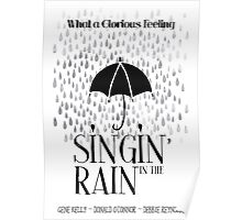 Singin' in the Rain Movie Poster Poster